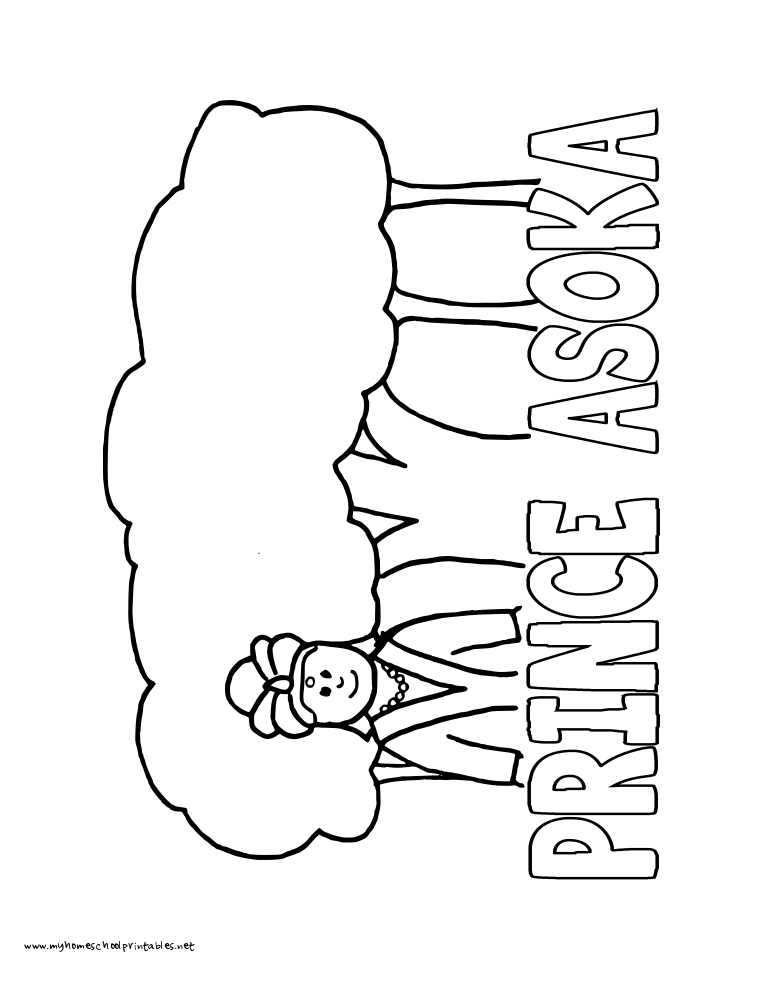 asoka coloring pages - photo#3