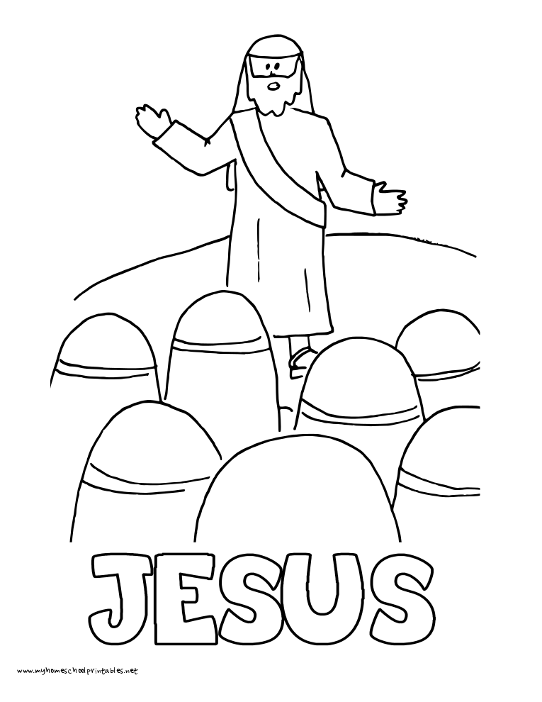 coloring pages beatitudes - photo#31