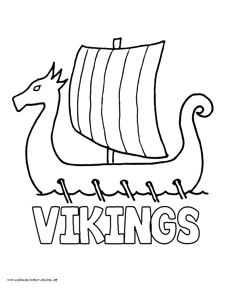 My Homeschool Printables » Vol 2 Coloring Book Downloadrhmyhomeschoolprintables: Coloring Pages Vikings At Baymontmadison.com
